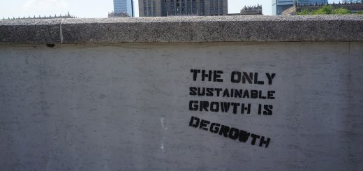 The only sustainable growth is degrowth.